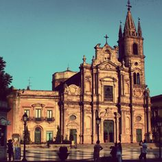 Acireale cathedral, Catania,  sicily