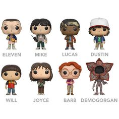 POP Stranger Things Vinyl Figure ($9.99) ❤ liked on Polyvore featuring home, home decor, vinyl figurines, vinyl home decor and vinyl figure