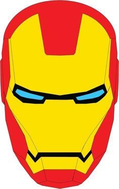 iron man mask template - Google Search