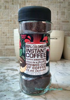 Trader Joe's 100% Colombian Instant Coffee 3.5oz $3.99 トレーダージョーズ 100% コロンビア インスタントコーヒー