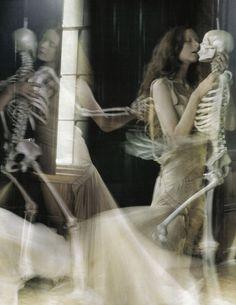 """A Private World"" Sunniva Stordahl by Tim Walker for Vogue Italia November 2008"