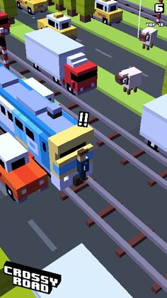 # crossy road fails