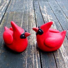 Cardinal Cake Topper on Etsy, $75.00