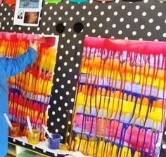 Coulures maternelle + mention artiste