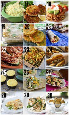 60 Zucchini Recipes | Taste and Tell