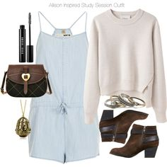 Allison Inspired Study Session Outfit
