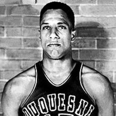 "Charles ""Chuck"" Cooper - Born in Pittsburgh & graduated from Westinghouse H.S. Was Duquesne University's first black basketball player. Became the first black player drafted into the NBA, signing with the Boston Celtics. After NBA career, became Pittsburgh's first black department head as director of parks & recreation in 1970. Lead community development initiatives at Pittsburgh National Bank for 13 years."