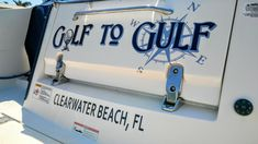 Boat Names by the Boat Name Guy! #GolfToGulf See more at BoatNameGuy.com