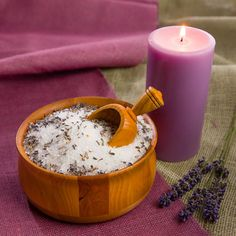 Add these two ingredients to your next bath for extra relaxation.