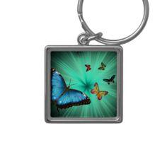 A Butterflies Journey Keychain