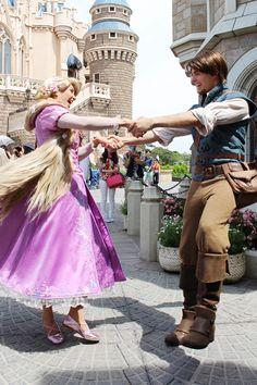 Day 17- Favorite dance scene, The Kingdom Dance in Tangled