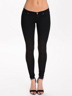 Kissy Denim Leggings - Dr Denim - Svart - Jeans - Kläder - Kvinna - Nelly.com