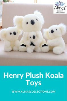 New Henry Plush Koala Toys Birthday Gifts For Boys, Birthday Gifts For Girlfriend, Friend Birthday Gifts, Boyfriend Birthday, Gifts For Kids, Little Babies, Cool Toys, Kids Toys, Baby Gifts