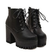 2015 freeshipping mulheres plataforma botas botas de salto alto inverno botas casuais das mulheres de couro pu sapatos atacado