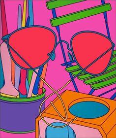 Michael-Craig-Martin_Intimate-Relations-Sunglasses