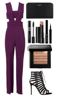 """""""Style #354"""" by maksimchuk-vika ❤ liked on Polyvore featuring Cushnie Et Ochs, Gianvito Rossi, Henri Bendel, Christian Dior, Arbonne, Bobbi Brown Cosmetics and Giorgio Armani"""