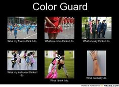 Color Guard: What we do.