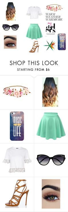 """Untitled #72"" by liana-fashion ❤ liked on Polyvore featuring Casetify, LE3NO, Topshop, La Perla and Dsquared2"