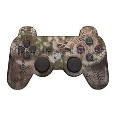 Custom PS3 controller Wireless Glossy WTP-736-Kryptek-Highlander-Reduced Custom Painted