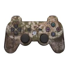 Custom PS3 controller Wireless Glossy WTP-736-Kryptek-Highlander-Reduced Custom Painted