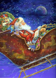 Père Noël création de Donna Race