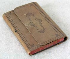 Small Antique Journal / Diary / Ledger  1882