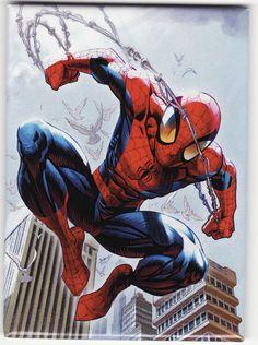 Ultimate Spider-Man Cover: Spider-Man Jumping Marvel Comics Poster - 30 x 46 cm Ultimate Spider Man, Ultimate Marvel, Marvel Comics, Marvel Art, Marvel Heroes, Captain Marvel, Batman Art, Batman Robin, Captain America