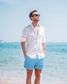 15 Easy Mens Fashion Casual Tricks For A Sharper Look! The Effective Pictures We Offer You About Beach Outfit party A quality picture can tell you many things. You can find the most beautiful pictures Style Outfits, Short Outfits, Style Clothes, Casual Outfits, Summer Outfits Men, Stylish Mens Outfits, Beach Outfits, Outfit Strand, Greece Outfit