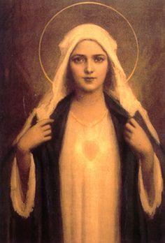 El corazón de María...