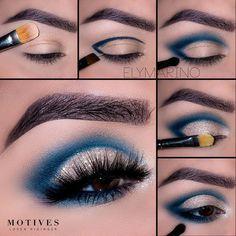 Amazing Turquoise Cut Crease Makeup Tutorial | Makeup Mania