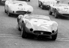 Maserati 300S Chassi 3062  23/04/1960 - Prêmio Juscelino Kubitschek - Inauguração de Brasília - Brasil #42 - Pinheiro Pires - Maserati 300S/3062. (Acervo Pessoal de Paulo Peralta) Felipe - Álbuns da web do Picasa