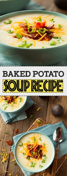 Baked Potato Soup is an extremely healthy and popular dish. Apart from being delicious, it is also a good choice, if you are trying to lose weight. It is also pretty easy to prepare it.
