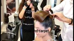 Red carpet by  Alessandro Vicini Hair coach