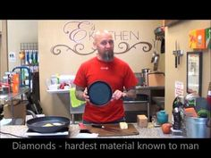 Es Kitchen show off the Swiss Diamond Non stick pan