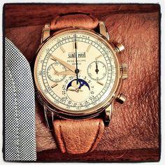 Patek Philippe ref.2499. #patekphilippe #perpetual #chronograph #geneva…