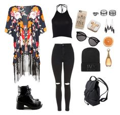 """Başlıksız #3"" by sudetopgul on Polyvore featuring moda, Phase Eight, Topshop, Ivy Park, Yves Saint Laurent, Casetify, PhunkeeTree, Lulu*s ve Charlotte Russe"