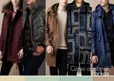 Cómo combinar: Parkas! #fashion #moda #male #parkas #coats #guys #hombre #abrigos #invierno #winter