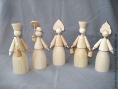 Купить Куклы,деревянные заготовки-1 - деревянные куклы, деревянные заготовки, заготовка кукла