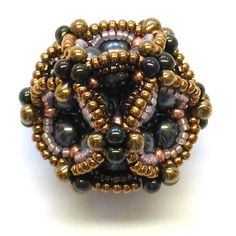 Ionic Cuboctahedron in Beads for the Math Nerd in You by gwenbeads