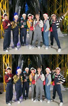 Look at these wonderful men! Kookie Bts, Bts Taehyung, Bts Bangtan Boy, Bts Group Picture, Bts Group Photos, Btob, Foto Bts, Bts Christmas, Vkook
