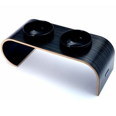 Modern design dog bowl stand