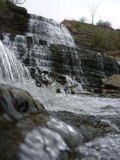 Mt. Albion Falls (Hamilton Ontario Canada) Albion Falls, Hamilton Ontario Canada, Canada Eh, Niagara Falls, Waterfall, Around The Worlds, Backyard, City, Natural