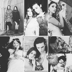 Juliet Simms and Andy Biersack   looking absolutely beautiful at the dollskill photoshoot