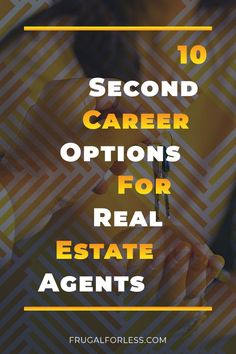 10 differeent second career options for real estate agents. These options also work for agents looking for a second side job. Single Mom Jobs, Make Money Online, How To Make Money, Us Universities, Survey Sites That Pay, Second Job, Career Options, Science Student, Part Time Jobs