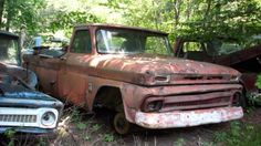 old rusted cars - Google Search