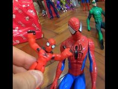 Scarlet Spider Man Homem Aranha   X Venom Playskool Super Hero Brinquedo...