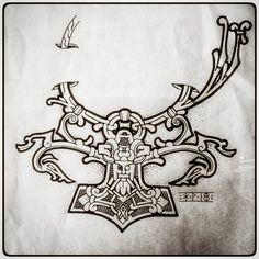 Our goal is to keep old friends, ex-classmates, neighbors and colleagues in touch. Norse Tattoo, Viking Tattoos, Tribal Turtle Tattoos, Hybrid Design, Thors Hammer, Automata, Tattoo Ideas, Ink, Artist