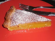 Tarte de Lamego, Portugal (recette portugaise) Portugal, Portuguese Recipes, French Toast, Recipies, Cheesecake, Good Food, Food And Drink, Bread, Cookies