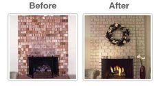 38 Best Brick Anew/ Fireplace Brick Paint Kit images ...