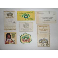 1984 Cabbage Patch Kids Twins Birth Certificate & Adoption Application Mala Listing in the Other,Cabbage Patch,Dolls,Dolls,Dolls & Bears Category on eBid United States | 145803372